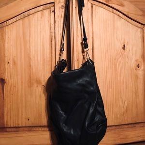 Zara Black Hobo Bag